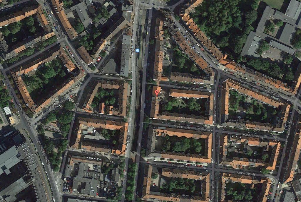 Google Maps - Praxis Gurgel - Anfahrt